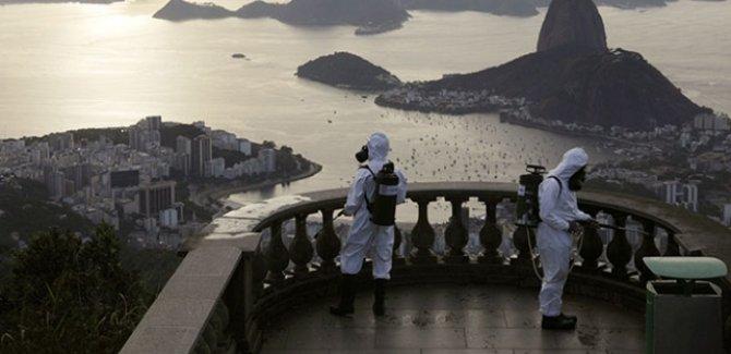 Brezilya ve Hindistan'da bir günde 1000'den fazla ölüm