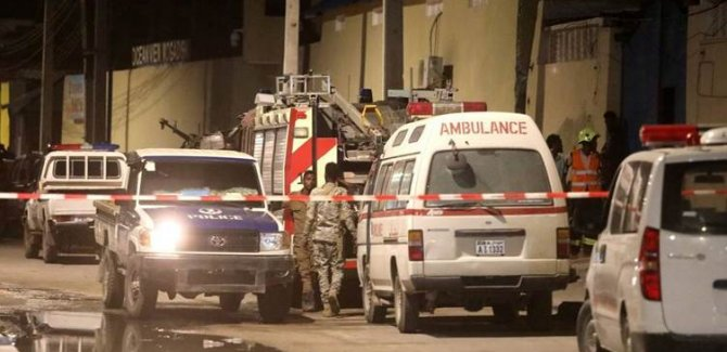Somali'de otele saldırı: 17 ölü, 28 yaralı