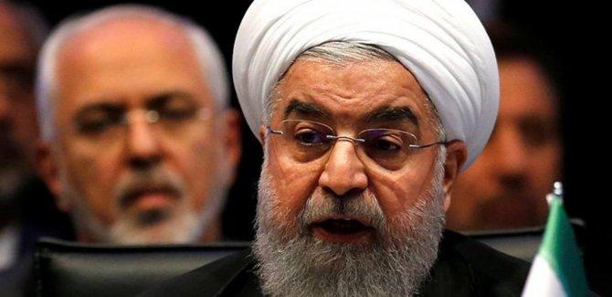 Ruhani: Trump çok konuşuyor