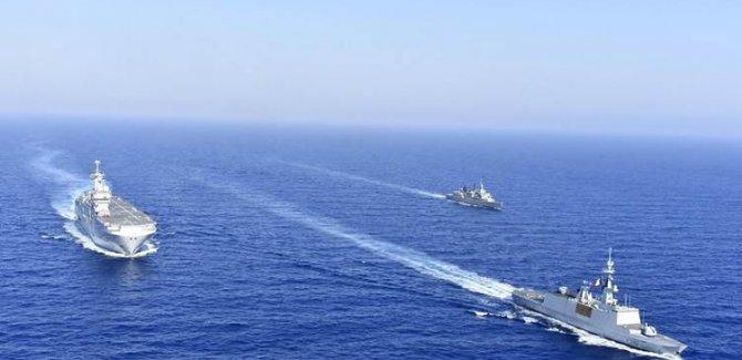 Fransa, İtalya, Güney Kıbrıs ve Yunanistan'dan ortak tatbikat kararı