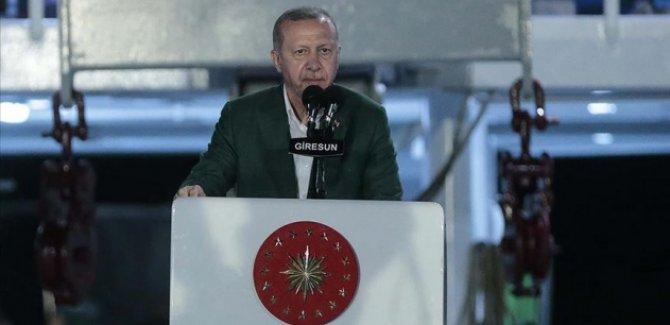 Erdoğan: Akdeniz ve Ege'de korsanlığa asla 'eyvallah' etmeyiz