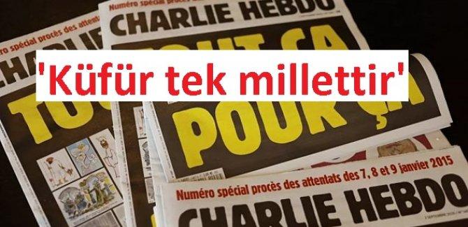 Alçak Macron, Hz. Muhammed karikatürlerini kınamayacağını söyledi