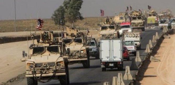 ABD'den Haseke'ye 60 araçlık askeri sevkiyat