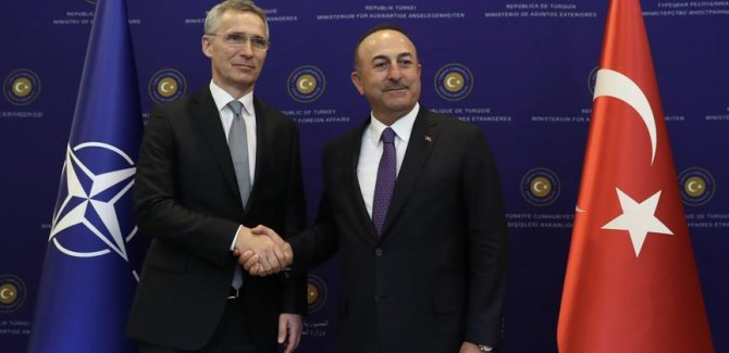 Çavuşoğlu, NATO Genel Sekreteri Stoltenberg ile telefonda görüştü