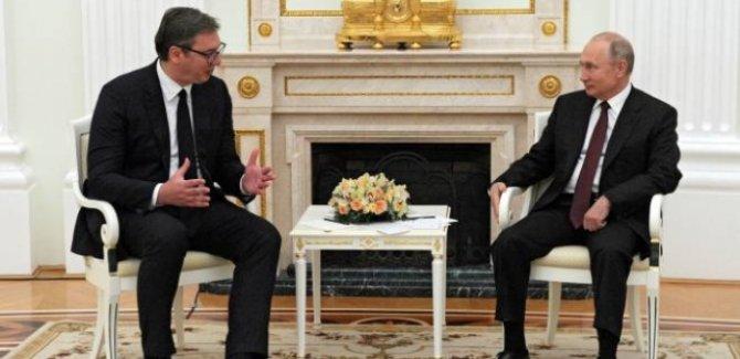 Putin, Sırbistan Cumhurbaşkanından özür diledi