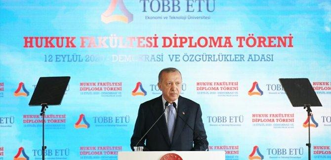 Erdoğan: Türkiye şu anda ekonomide pik yapıyor, kalkmışlar puanımızı tekrar düşürme yoluna gidiyorlar