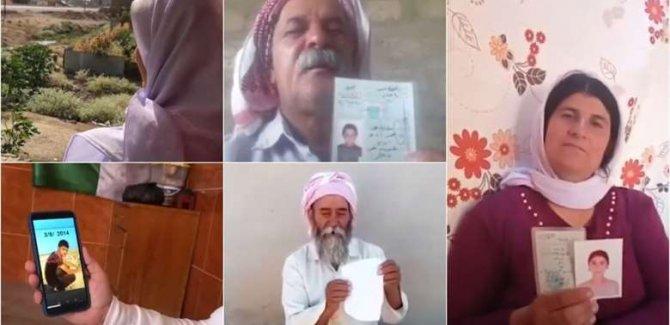 Şengalli aileler: Çocuklarımızı PKK'nin elinden kurtarın