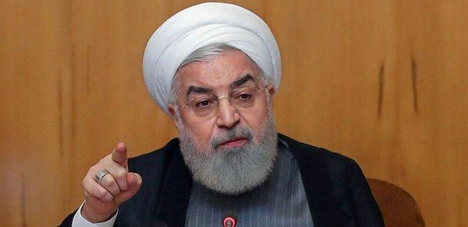 Ruhani: Bazı Arap ülkeleri, bölgede İsrail'e üs vermek istiyor
