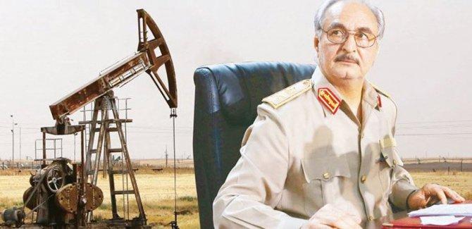Hafter, Libya'da petrol blokajını kaldırdığını duyurdu