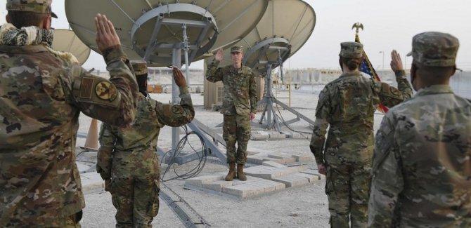 ABD Uzay Kuvvetleri birliği Katar'a konuşlandı