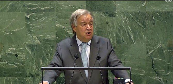 Guterres, 'küresel ateşkesi 100 gün içinde hayata geçirin' çağrısı
