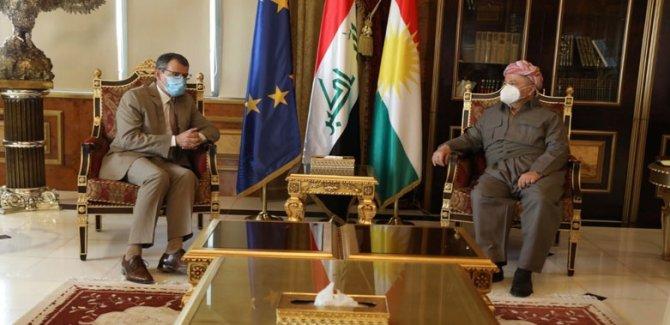 Barzani: Kürdistan halkı barış ve diyaloğa inanıyor