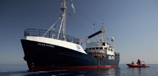 Alan Kurdi gemisi Fransa'ya gidiyor