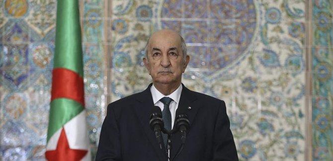 Cezayir: Filistinlilerin Başkenti Kudüs olan devletlerini kurma hakları pazarlık konusu değil