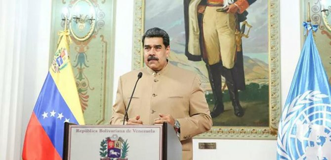 Maduro'dan uluslararası topluma ABD yaptırımlarına karşı çıkma çağrısı