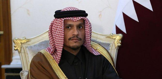Katar: Filistin meselesinde adil çözümü destekliyoruz