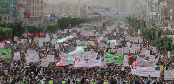 Filistin İçin dev gösteri