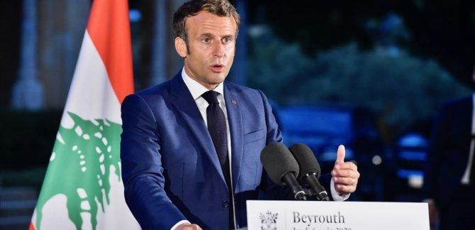 Lübnanlı siyasi gruplardan Macron'a tepki