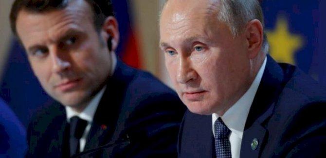 Putin ile Macron'dan Dağlık Karabağ'da ateşkes çağrısı