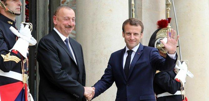Aliyev, Fransa'yı özür dilemeye çağırdı