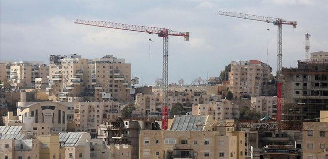 İsrail 2020'de Batı Şeria'da 12 binden fazla yasa dışı konut inşasını onayladı
