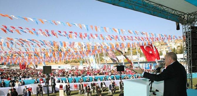 Erdoğan, Şırnak'ta konuştu: Hiçbir siyasi, ideolojik mülahaza kardeşliğimizden daha önemli değil