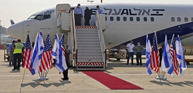Birleşik Arap Emirlikleri'nden İsrail'e ilk ticari uçuş