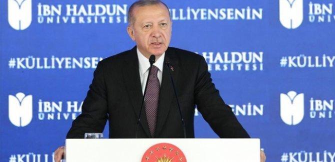 Erdoğan: Medeniyet tasavvurumuzu layıkıyla hayata geçiremiyoruz