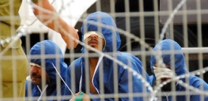 60 Filistinli Esiri Açlık Grevi Yüzünden Tecride Gönderildi