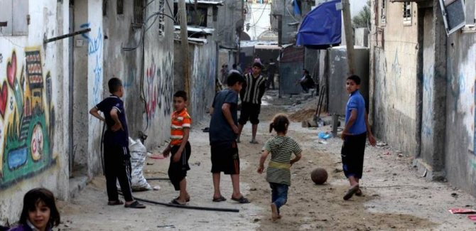 Gazze ahalisinin %85'i fakirlik sınırının altında yaşıyor