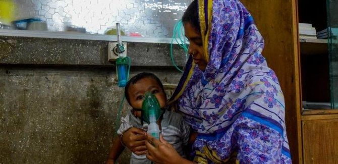 Yarım milyon bebek hava kirliliği kurbanı