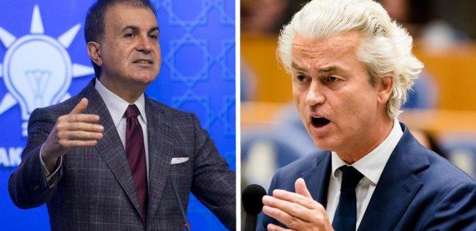 Çelik'ten Hollandalı aşırı sağcı Wilders'a: Ahlaksız, insanlık düşmanı ve faşist