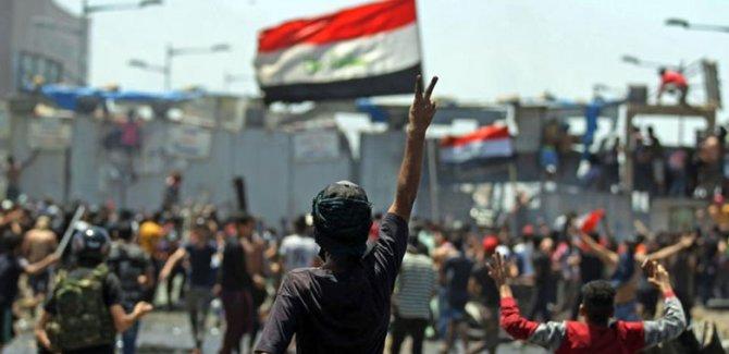 Bağdat'ta gösteriler başladı