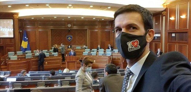 'I Love Muhammed' yazılı maskeyle Meclis oturumuna katıldı