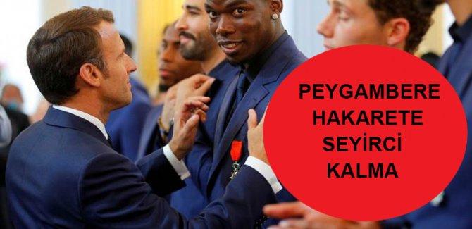 Macron'un sözlerine kızan Paul Pogba Fransa milli takımını bıraktı