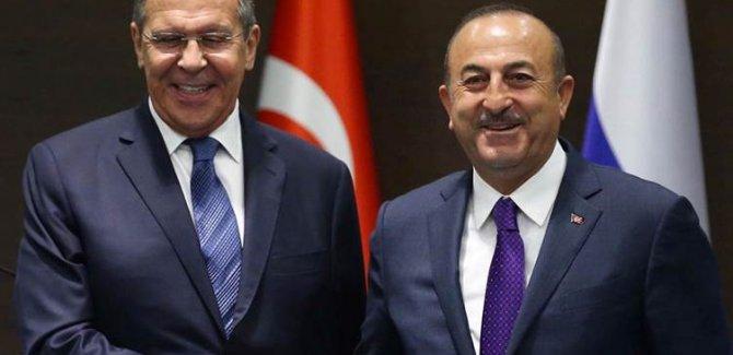 Çavuşoğlu ile Lavrov Dağlık Karabağ'ı görüştü