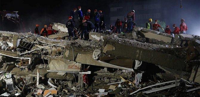 İzmir'de ki depremde can kaybı sayısı 83'e yükseldi