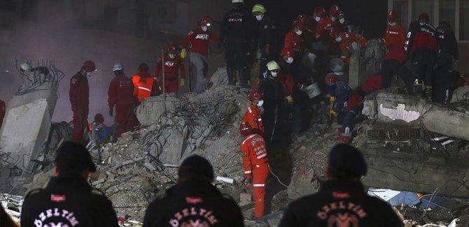 Depremde can kaybı 107'ye yükseldi