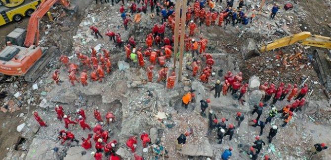 İzmir'de arama kurtarma çalışmaları tamamlandı