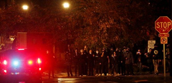 ABD'de seçim gerginliği: Sokaklar karıştı