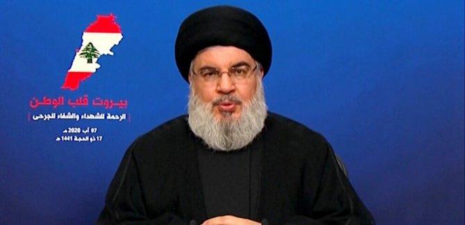 Nasrallah: Devletin İsrail ile belirleyeceği sınıra bağlıyız