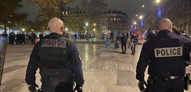 Paris'te polisin insan avı