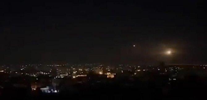 Suriye medyası: İsrail, Kuneytra'yı hava saldırılarıyla hedef aldı