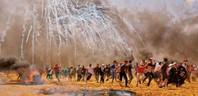 Kuşatılmış Gazze'de 1 milyondan fazla Filistinli yoksulluk yaşıyor