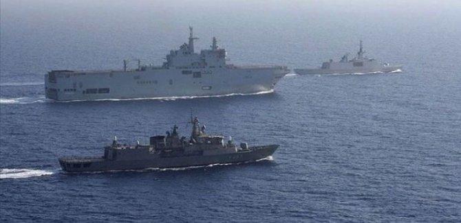 Akdenizin Şer ittifakından Ortak Askeri Tatbikat