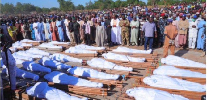 Nijerya'da çiftçilere yönelik silahlı saldırı:110 kişi hayatını kaybetti