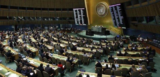 BM'den Filistin'e destek kararnamesi