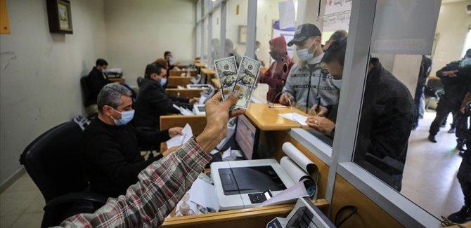 Katar'dan Gazze'de ihtiyaç sahibi 100 bin aileye nakdi yardım