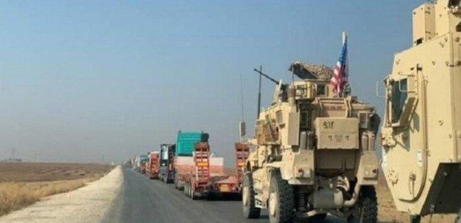 Amerikalı Askeri Konvoy Irak'tan Suriye'ye Geçti