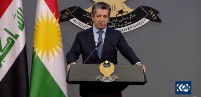 Barzani: Yakıp yıkmakla halka hizmet edilmez
